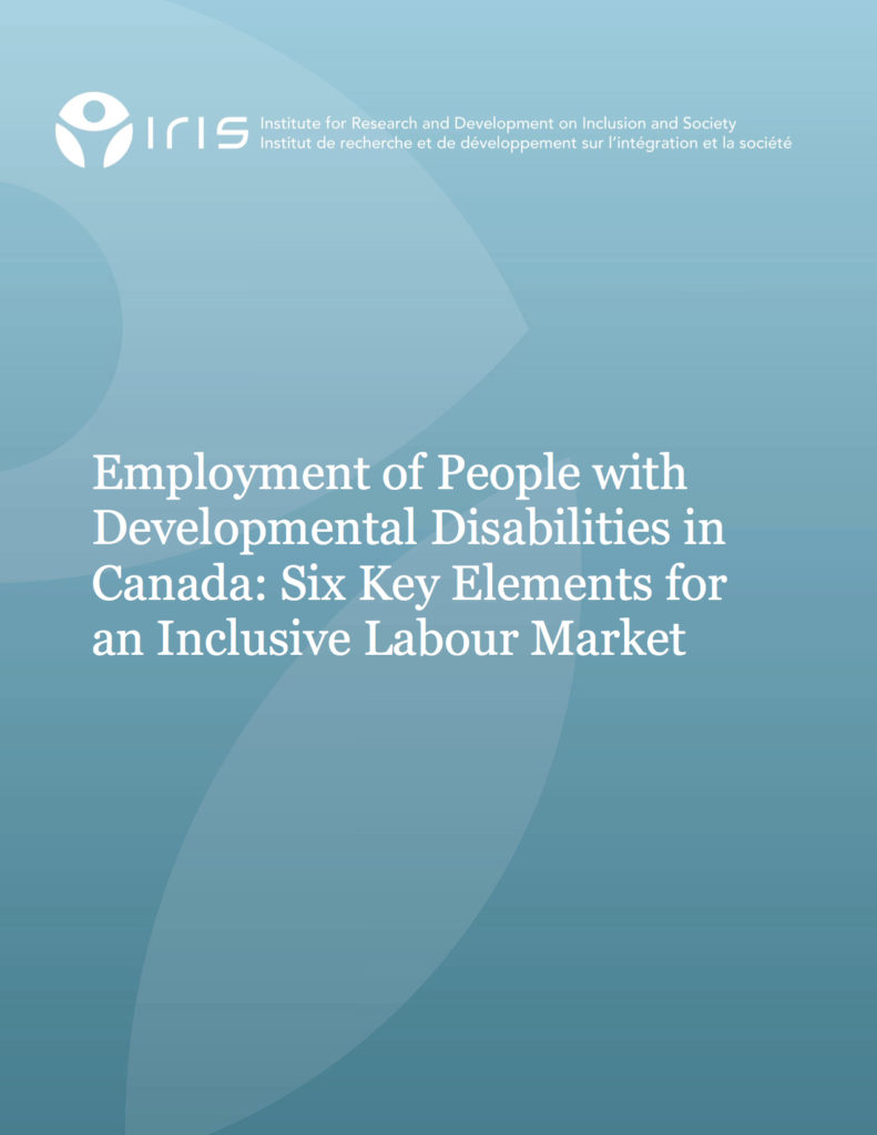 Six Key Elements for an Inclusive Labour Market