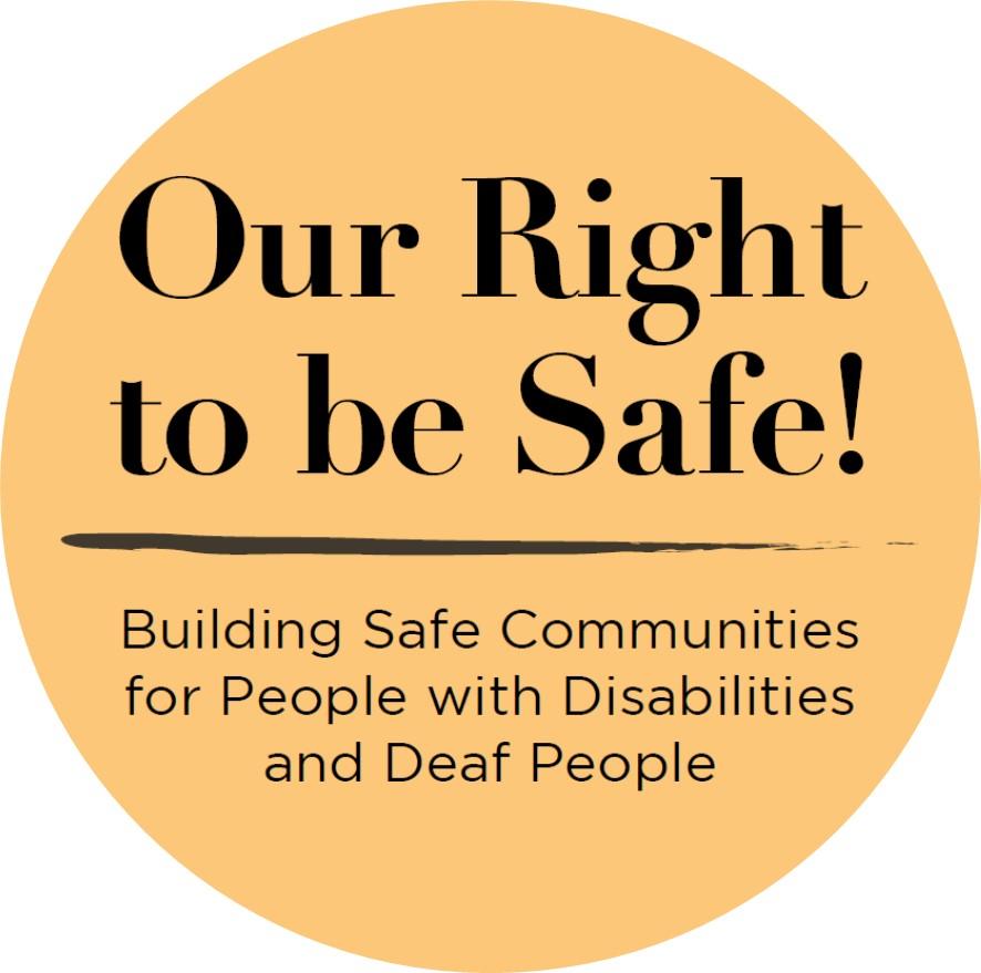 Notre droit d'être en sécurité!